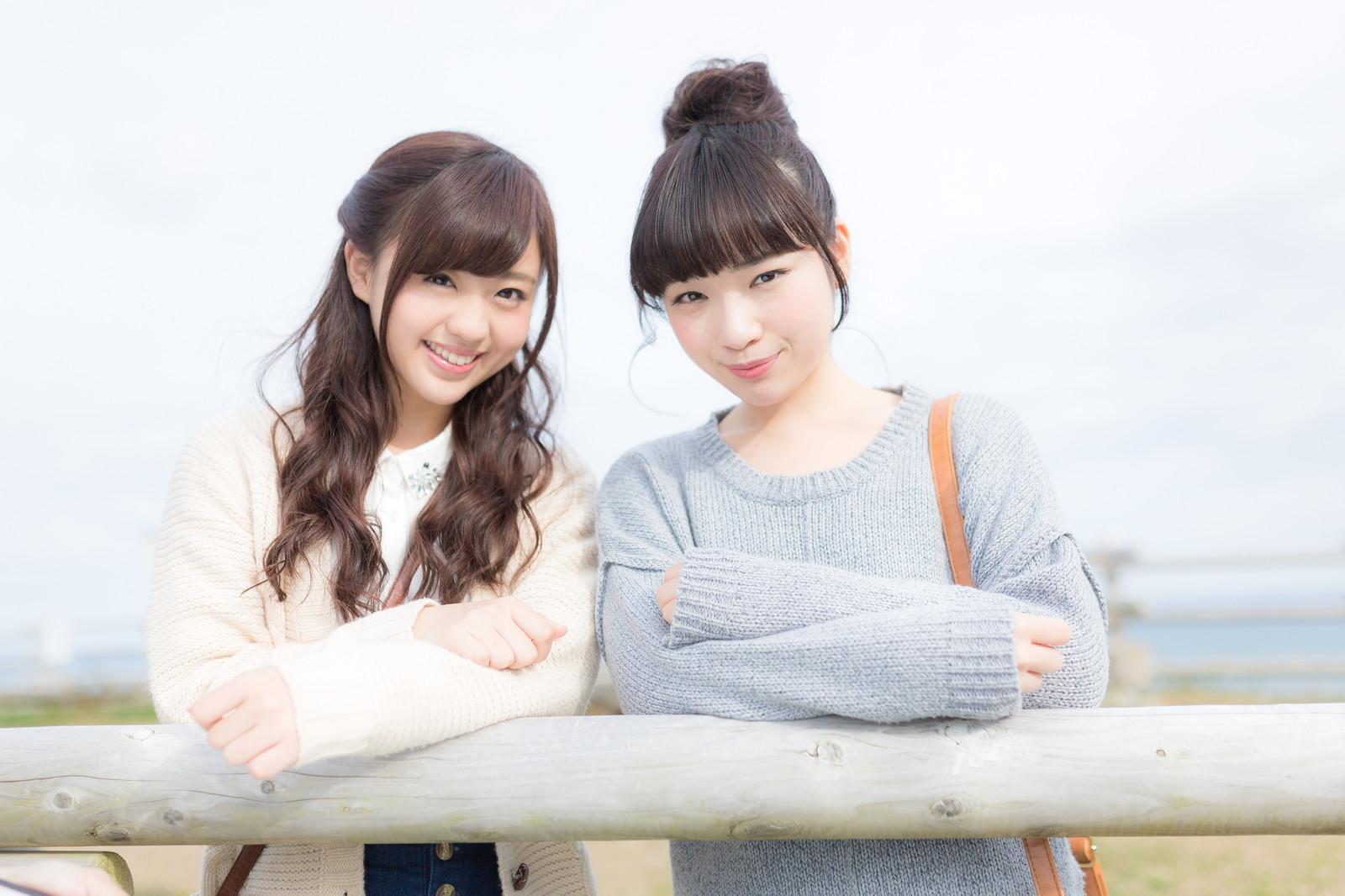 二人の女子大学生