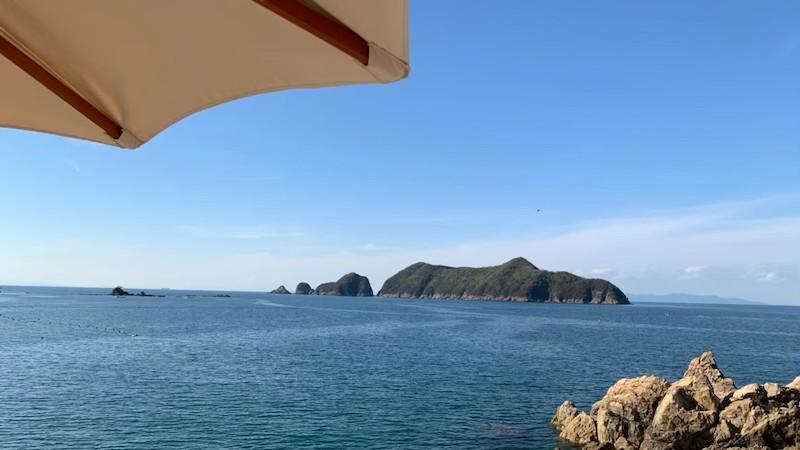 ボートカフェザビーチ 風景