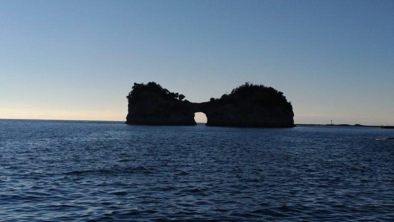 円月島 写真