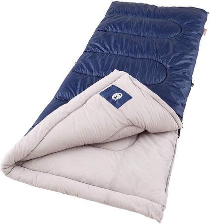 封筒型シュラフ Coleman Brazos Sleeping Bag